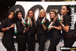 Matchless Samplingpersonal für Heineken