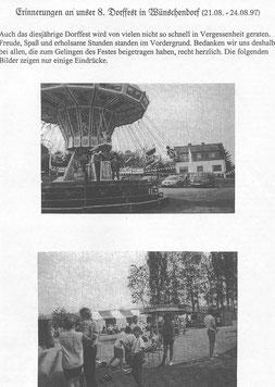 Bild: Teichler Wünschendorf Erzgebirge Dorffest 1997