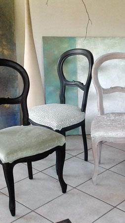 Polsterei Stühle Louis Philippe
