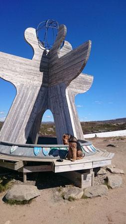 Cilly-Fanny Urlaub am Polarkreis