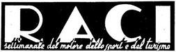 """Il logo del settimanale """"RACI"""""""