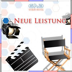Neue Leistungen  für Deine Werbevideo & Videoschnitt