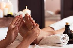 Fussreflexzonen Therapie, Fussreflexzonenmassage, Psychozon Massage, Pränatal Metamorphose, Lymphdrainage