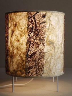 lampe papier végétal cadre de vie