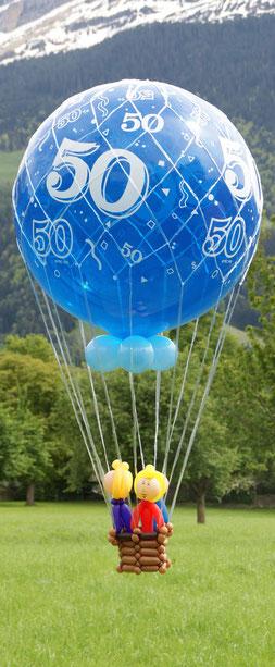Mr.balloni ch,Geburtstag, Ballongeschenk,Helium, Flug