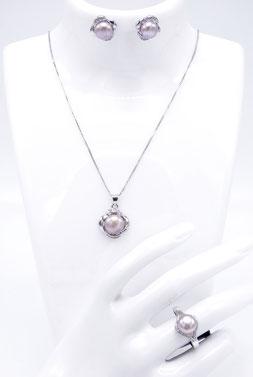 Bijoux véritable perle de culture