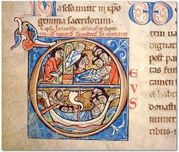 Laon, BM, ms 243t, f° 240, XVe s.