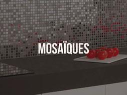 Pose mosaïques cuisines Quimper