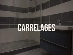 Pose de carrelage de salle de bain à Quimper