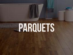 Pose de parquets dans salle de bain à Quimper