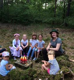 Kindergeburtstag im Wald im Havelland