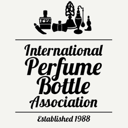 LE LOGO DE IPBA INTERNATIONAL : INTERNATIONAL PERFUME BOTTLE ASSOCIATION