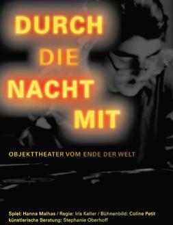 """Plakat """"§Durch die Nacht mit -"""""""