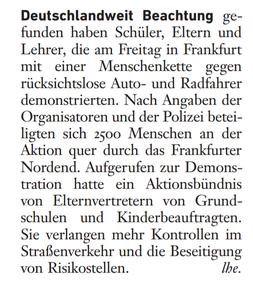 Frankfurter Allgemeine Sonntagszeitung, Rhein-Main 23. April 2017
