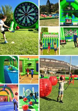activité enfant été, jeux enfants centre de loisirs, ventrigliss annecy, activité foot annecy