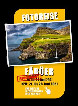 Button zur Fotoreise Färöer