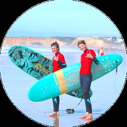 Yoga und Surfen Andalusien