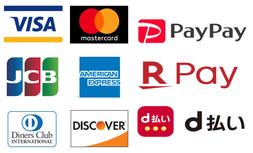 クレジットカード決済可