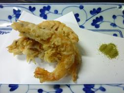 芝海老の天ぷら