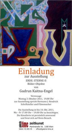 galerie time Ausstellung Bilder-Objekte Gudrun Kaitna-Engel
