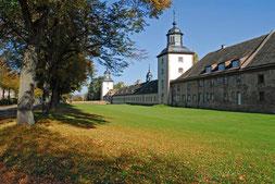Schloss Corvey an der Weser © Kulturkreis Höxter-Corvey gGmbH