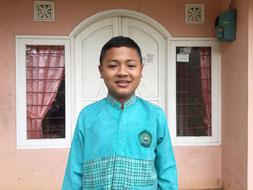 タヌくん(12歳 )ブニワンギ小学校