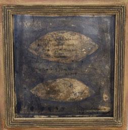 Collection No.126 (2009)       板に油彩・アクリル板 / 46.5x46.0cm