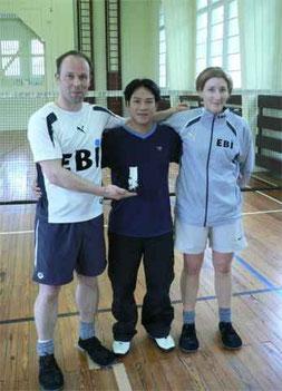 Frank Sauerborn, Nguyen Minh Tam, Dina Jäger
