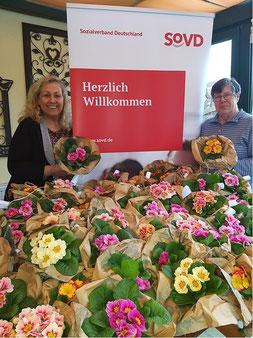 Bild v.l.n.r. Manuela Fick 1. Vors. & Annekatrin Middeldorf 2. Vors.