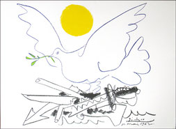 Pablo Picasso/ Colombe de l'avenir