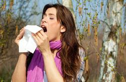 Heuschnupfen Allergien Unverträglichkeiten Pollenallergie Tierhaare