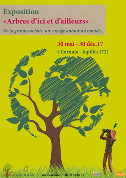 Exposition sur la seconde de vie de l'arbre