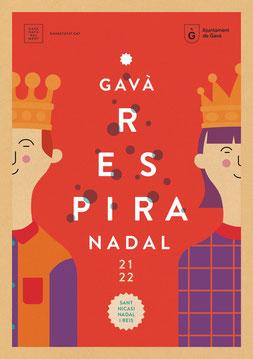 Fiestas en Gavà Mercat de Sant Nicasi, Nadal i Reis