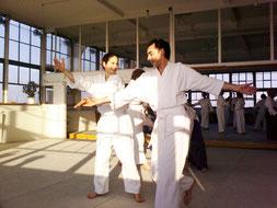 Aikidoschule Berlin - im Aikido Dojo Rheinstraße 2008