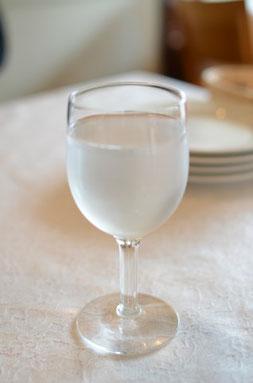 NASAが開発した世界最高レベルの浄水器用フィルターを使用した水を調理に使っています