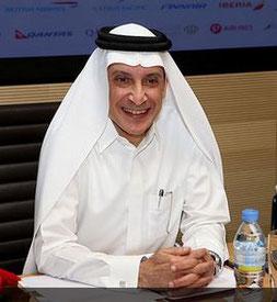 … CEO Akbar Al Baker of Qatar Airways