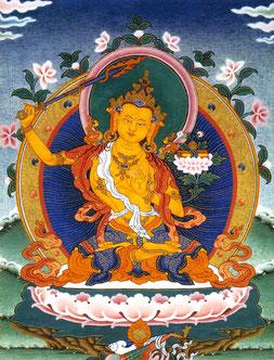 Manjushri, el Bodhisattva de la sabiduría