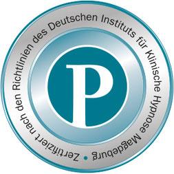 Zertifiziert am Institut für klinische Hypnose Magdeburg
