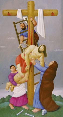 Deposizione dalla croce, F. Botero