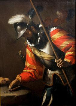 Soldato  Rende, Museo Civico, olio su tela, cm 130 x 100