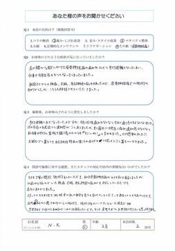 2019.07.01 N.K様 No.138お客様の声(マタニティ)