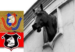 Tête de cheval, emblème de Dumesnil?