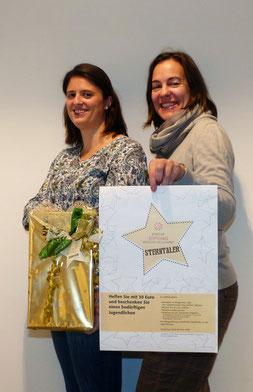 Alexandra Hiereth, Projektleiterin Sterntaler und Eva Diepenseifen von der Bürgerstiftung, Foto: BRN/Sturm