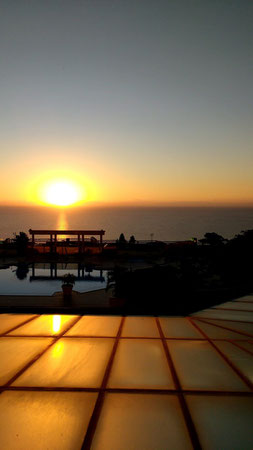 Sunrise over the Indian Ocean at the Polana Serena Hotel, Maputo - Dante Harker
