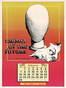 Crimes Of The Future de David Cronenberg - 1970 / Science-Fiction - Horreur