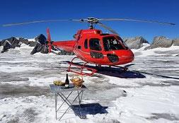 Gutscheine Alpenrundflüge mit Gletscherlandung