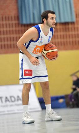 Francesc Iturria erzielte gegen die Twisters 9 Punkte. (Foto: Elsen)