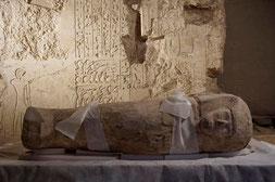 El sarcófago hallado en Luxor. © CSIC