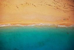 Algunos países como Gambia o El Salvador podría perder hasta el 80 % de sus playas en 2100. / Foto: Pixabay