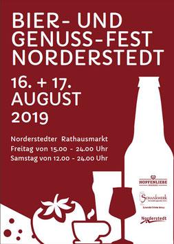 Bier-und Genussfest, PACT, Norderstedt-Mitte, Hopfenliebe, Schankwerk